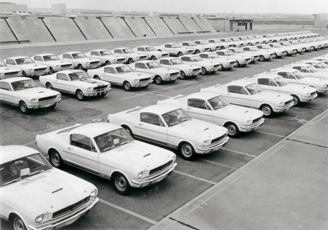 Shelby Lot in 1965