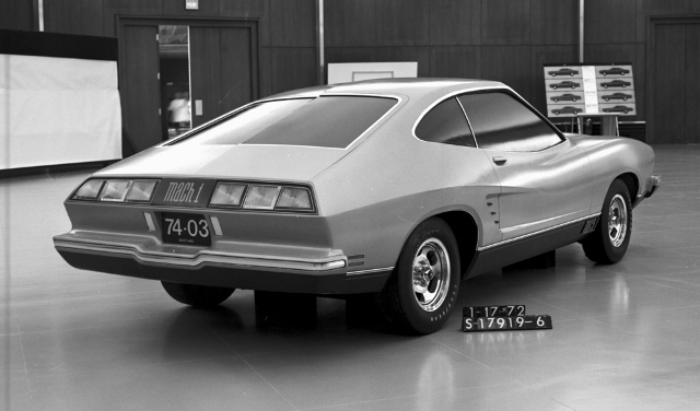 1974 Ford Mustang styling concept