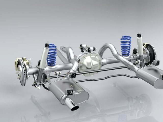 S197 Mustang rear suspension