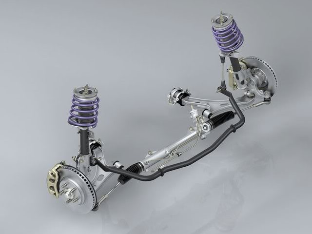 S197 Mustang front suspension