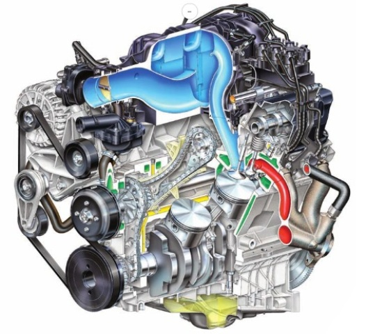 2005 Mustang 4.0 SOHC V-6 engine