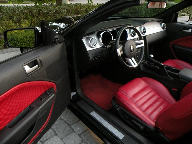 Mustang Interior Color Accent Package