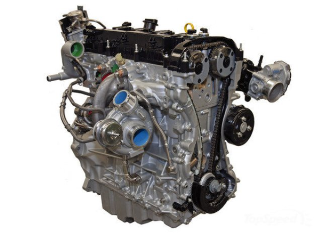 2015 Mustang EcoBoost Engine