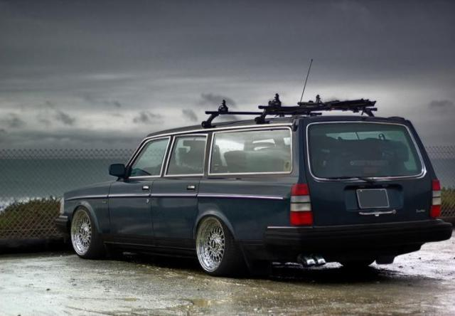 Volvo 240 Dl Wagon. The Volvo 240 a classic?